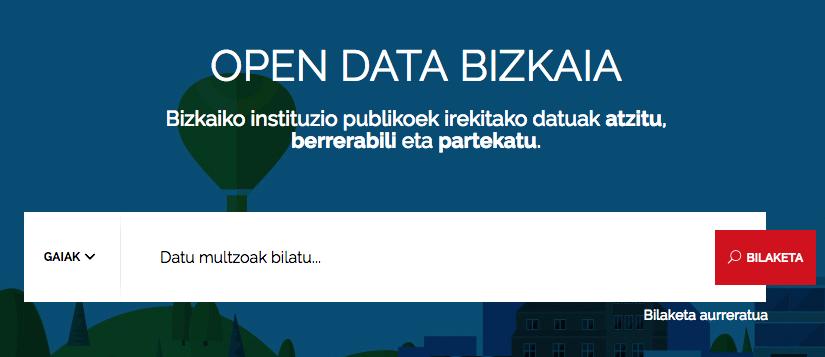 Bilbao Data Lab colabora con Open Data Bizkaia